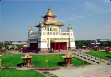 Праздничный Тур в Калмыкию из Краснодара к 23 февраля 2017 Золотые Буддийские Храмы