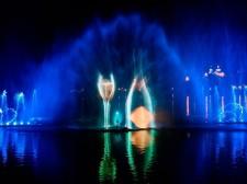 Шоу фонтанов в Абрау Дюрсо из Краснодара 05.09.2020