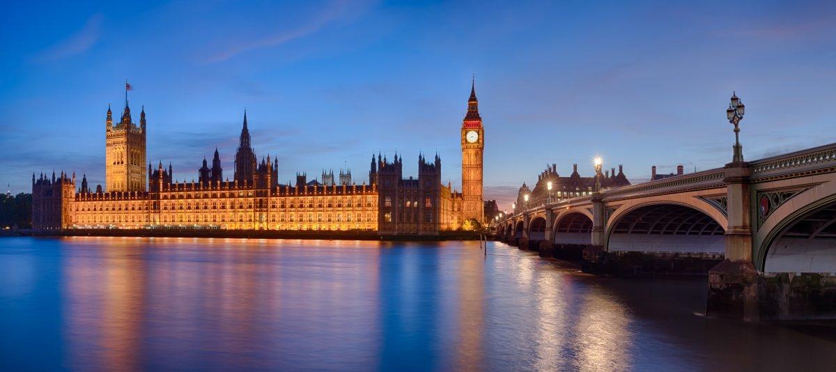 Самые красивые места лондона с