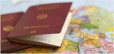 Первая виза в Конго (Браззавиль)